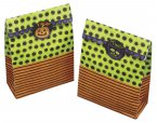 Spookily Does It Pack of 8 Halloween Treat Bags and Labels