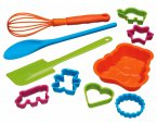 Let's Make Children's Ten Piece Baking Set