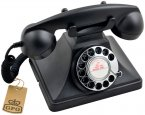 GPO 200 Telephone Black