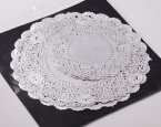 "NJ Products Assorted Silver Doilies 5"" 8"" and 9"" Pack of 20"