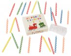 Rex Party Train Cake Candles, Set of 24