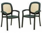 Nardi Beta Chairs (Set of 2) - Green