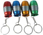 Kingavon 6 LED Bullet Torch with Keyring Assorted