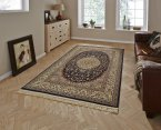 Think Rugs Regal 0227A Navy