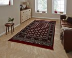 Think Rugs Regal 0636A Red