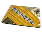 Kico Iconic Placemat - Yellow Phonebox