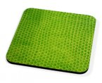 Kico Animal Skin Coaster - Green Snake