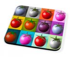 Kico Food & Drink Coaster - Tomato Collage