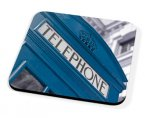 Kico Iconic Coaster - Blue Phonebox