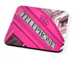 Kico Iconic Coaster - Pink Phonebox