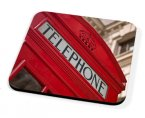 Kico Iconic Coaster - Red Phonebox