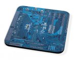 Kico Gaming Coaster - Blue Circuit Board