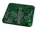Kico Gaming Coaster - Green Circuit Board