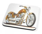Kico Automotive Coaster - Harley Davidson