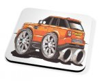 Kico Automotive Coaster - Orange Range Rover