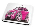 Kico Automotive Coaster - Pink Mini