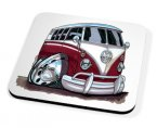 Kico Automotive Coaster - Purple VW Camper Van