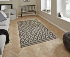 Think Rugs Cottage CT5581 Anthracite/Sand - Various Sizes