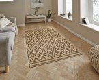 Think Rugs Cottage CT5581 Natural/Brown