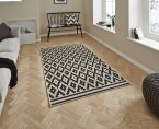 Think Rugs Cottage CT5581 Wool/Black