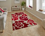 Think Rugs Hong Kong 33L Beige/Red