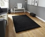 Think Rugs Vista 2236 Black - Various Sizes