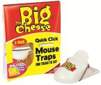 STV The Big Cheese Quick Click Mousetrap x2 STV140