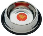 Petface Stainless Steel Dish Non Tip Medium