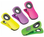Kitchen Craft Magnetic Memo Clips, Set of 4