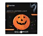 Premier Decorations Halloween Battery Operated Jack-O-Lantern 40cm with Warm White LED