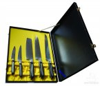 Tojiro Senkou 5 Piece Knife Presentation Set