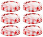 Judge Kitchen Preserving Jar Lids (Set of 6)