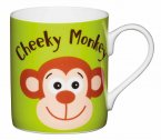 KitchenCraft Fine Bone China Mini Mug 250ml - Cheeky Monkey