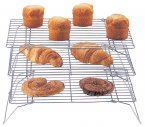 Apollo Chrome Cake Rack Set of 3