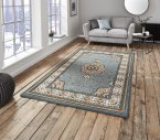 Think Rugs Heritage 4400 Blue