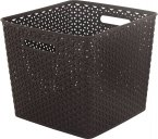 Curver My Style Storage Basket - Square - Brown