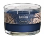 Bolsius Filled Glass Candle With 3 Wicks - Celebrate