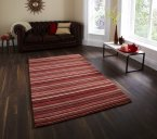 Think Rugs Oxford OX 10 Red/Beige