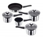 Judge Vista Excalibur Non-Stick Draining 5 Piece Pan Set