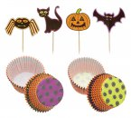 Spookily Does It Halloween Cupcake Kit, 48 Piece Set