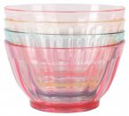 Navigate Sweet Summer Days Plain Coloured Bowls, Set of 4