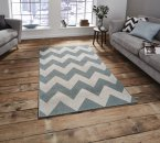 Think Rugs Cottage CT5191 Blue
