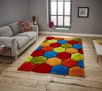 Think Rugs Noble House NH30782 Multi - Various Sizes
