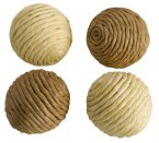 Petface Catkins Sisal Balls with Catnip Pack of 4