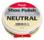 Punch Leather Shoe Polish Neutral 40ml