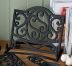 Premier Cast Iron Cookbook Stand in Matt Black