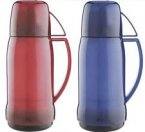 Thermos Jupiter 38 Flask Translucent Red / Blue 1 Litre