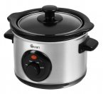 Swan 1.5Ltr Stainless Steel Slow Cooker