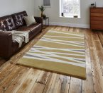 Think Rugs Elements EL61 Yellow