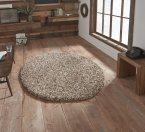 Think Rugs Vista 3547 Beige Circle - Various Sizes